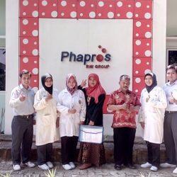 """Kerjasama Dengan Industri Farmasi """"PT PHAPROS"""""""